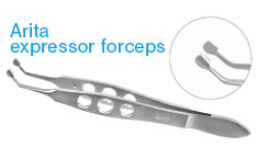 Arita expressor forceps