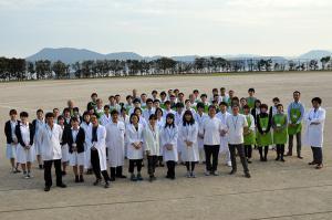 Ophthalmologic examination in Hirado