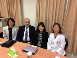Taiwanの病院を訪問してDr. YouとMGDの話をしてきました
