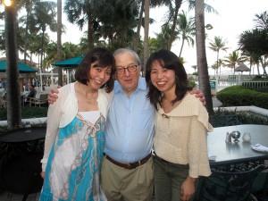 左 有田 中央 Dr..Korb 右 川島先生