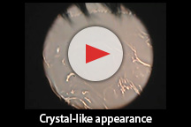 Crystal-like appearance